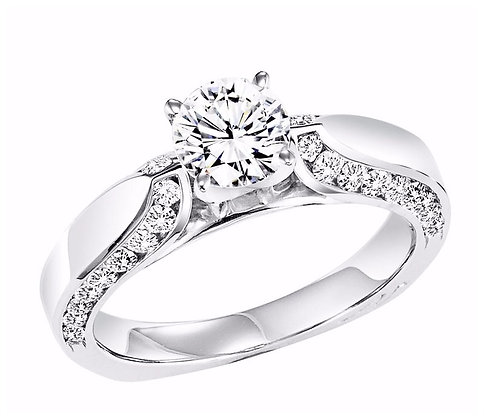 .54 ct tw Diamond Engagement Mounting