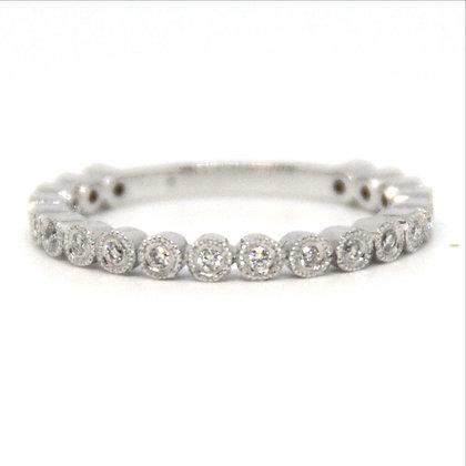 0.15 ctw White Gold Diamond Ring