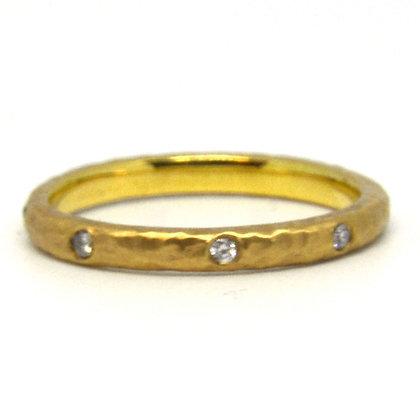 0.13 ctw Yellow Gold Diamond Ring
