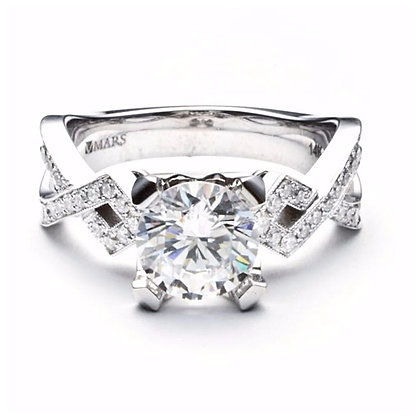 .24 ctw White Gold Diamond Engagement Mounting