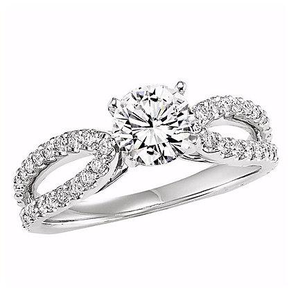 .40 ctw Diamond Engagement Mounting