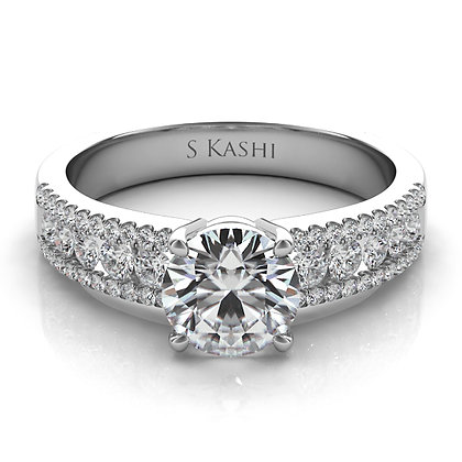 Classic Engagement Ring .50ctw