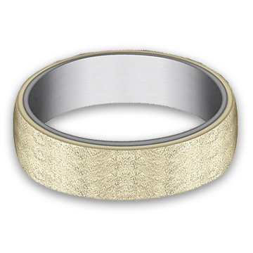 6.5 mm 14k Yellow Gold & Tantalum Band