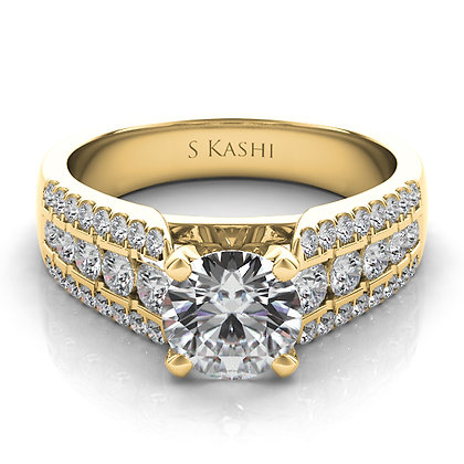 Classic Engagement Ring .62ctw