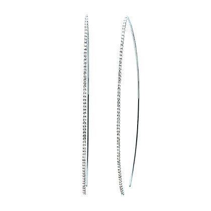 .54 ctw Diamond Hook Earrings
