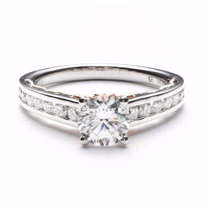 .24 ctw White Gold Diamond Engagement Mounting