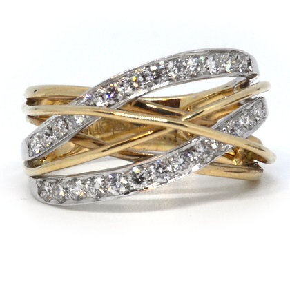 Yellow Gold 1.26 ctw Diamond Ring