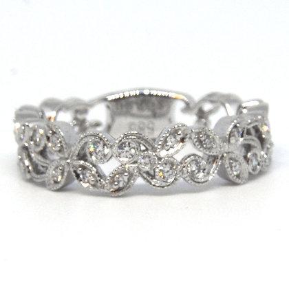0.15 ct. White Gold Diamond Ring