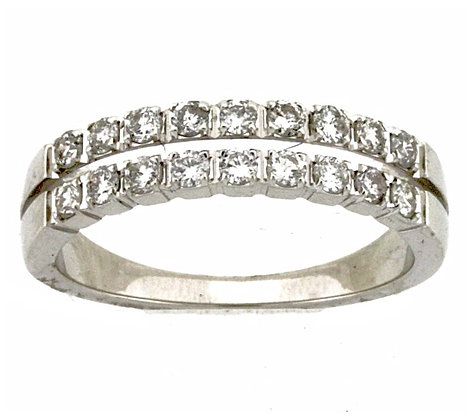 .55 ctw Diamond Band in 14K White Gold