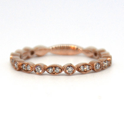 0.25 ctw Rose Gold Diamond Ring