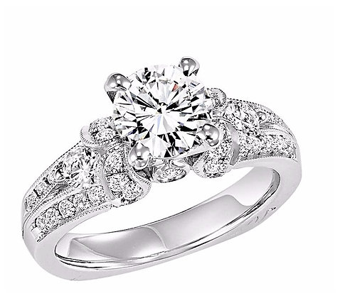 .70 ct tw Diamond Engagement Mounting