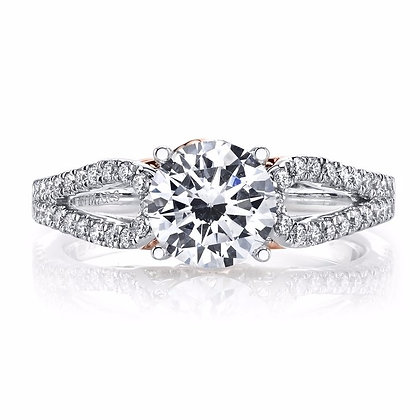 Diamond Engagement Ring, 0.34 Ctw.