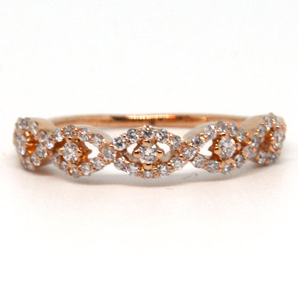 0.40 ctw Rose Gold Diamond Ring