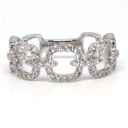White Gold 0.47 ctw Diamond Ring