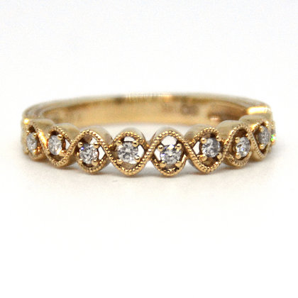 0.25 ctw. Yellow Gold Diamond Ring