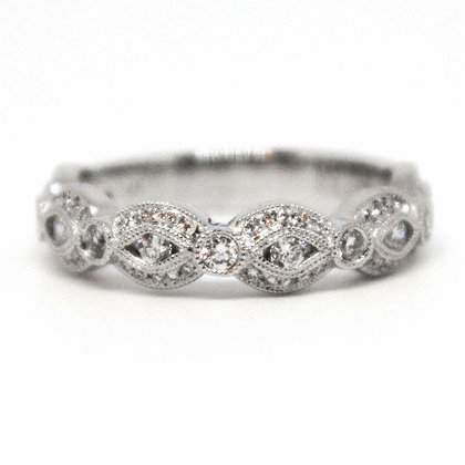 0.39 ctw White Gold Diamond Ring