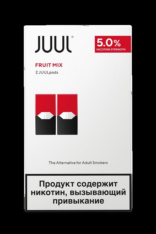 Поды для JUUL - Fruit Mix - упаковка из 2-х картриджей
