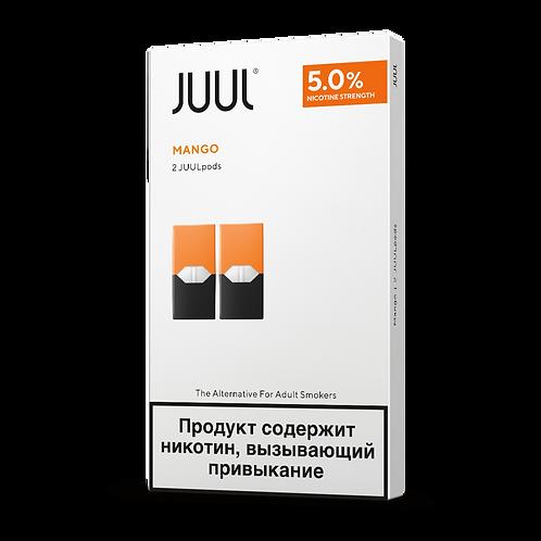 Поды для JUUL - Mango - упаковка из 2-х картриджей