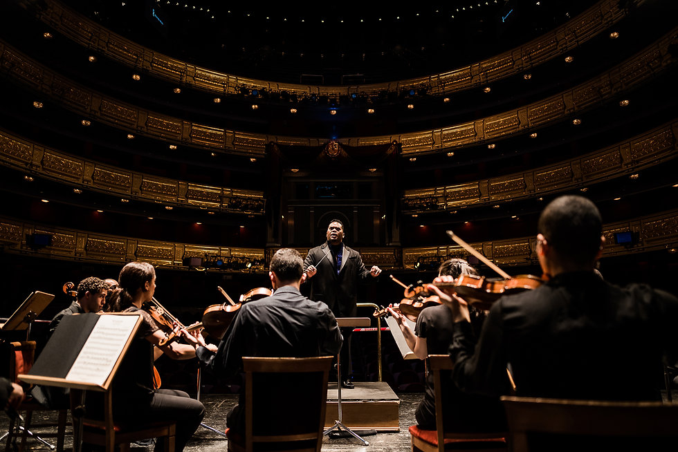 Conductor Anthony Parnther | Teatro Real - Madrid, Spain