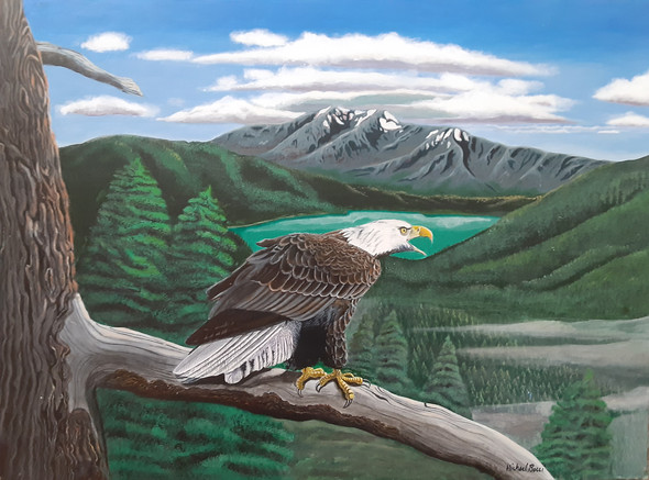 Eagle Domain | Acrylic