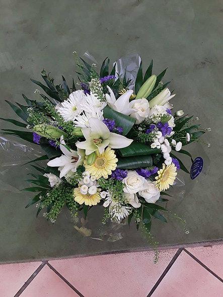 Bouquet rond marin