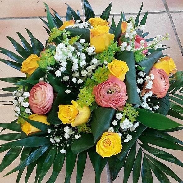 Bouquet varié muguet
