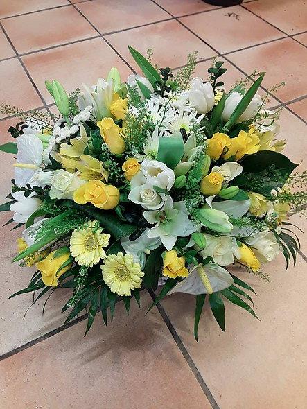 Bouquet rond printanier