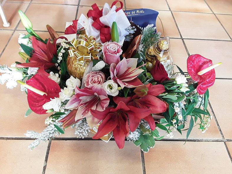 Bouquet varié fêtes