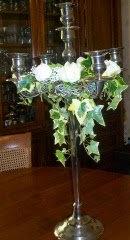 Chandeliers fleuris