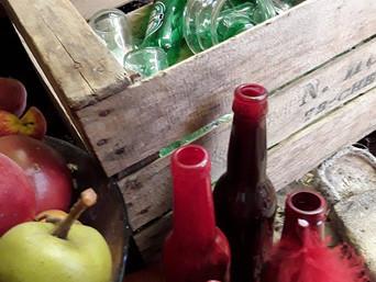 Notre boutique recycle vos bouteilles!