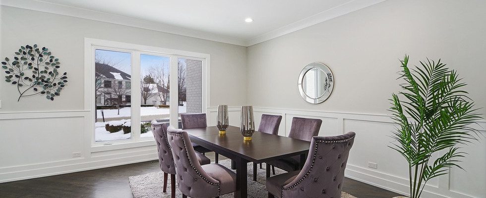 Dining Room in Downers Grove designed by MRM Home Design.jpg
