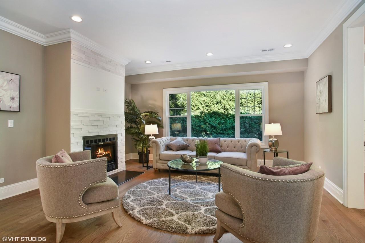 Living Room in Arlington Heights designed by MRM Home Design.jpg