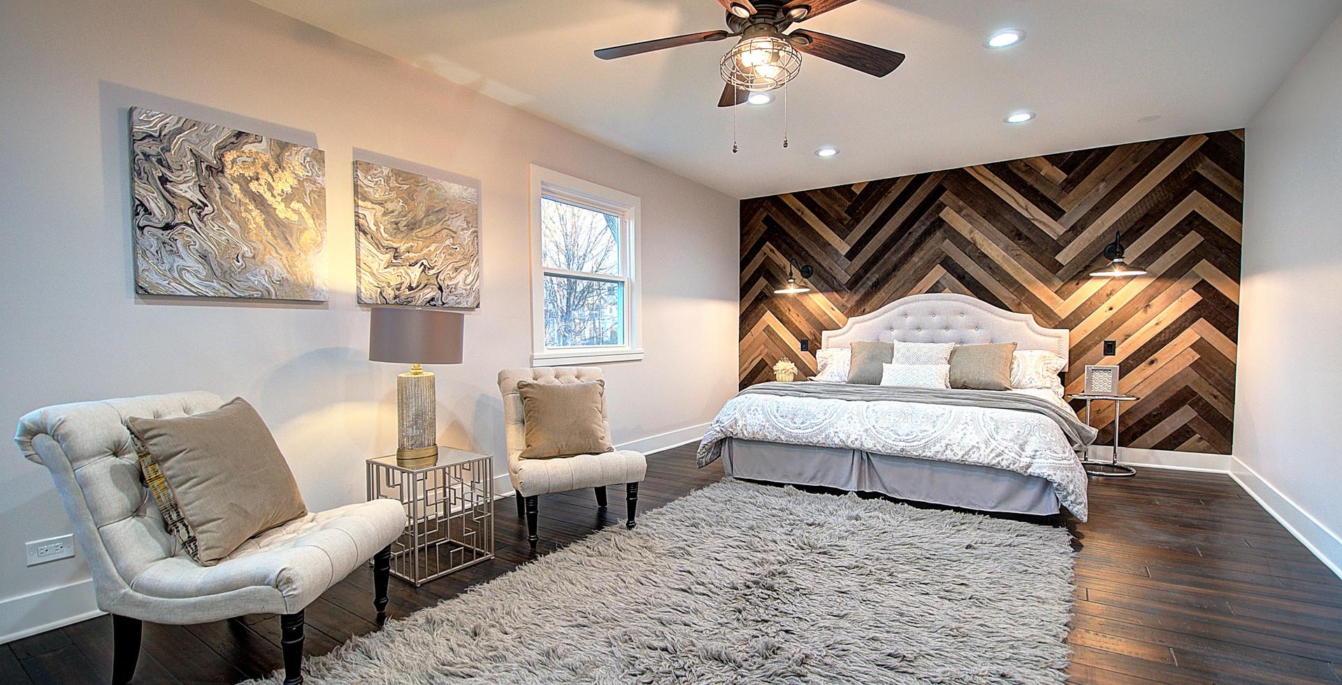 Bedroom in Oak Park designed by MRM Home Design.jpg