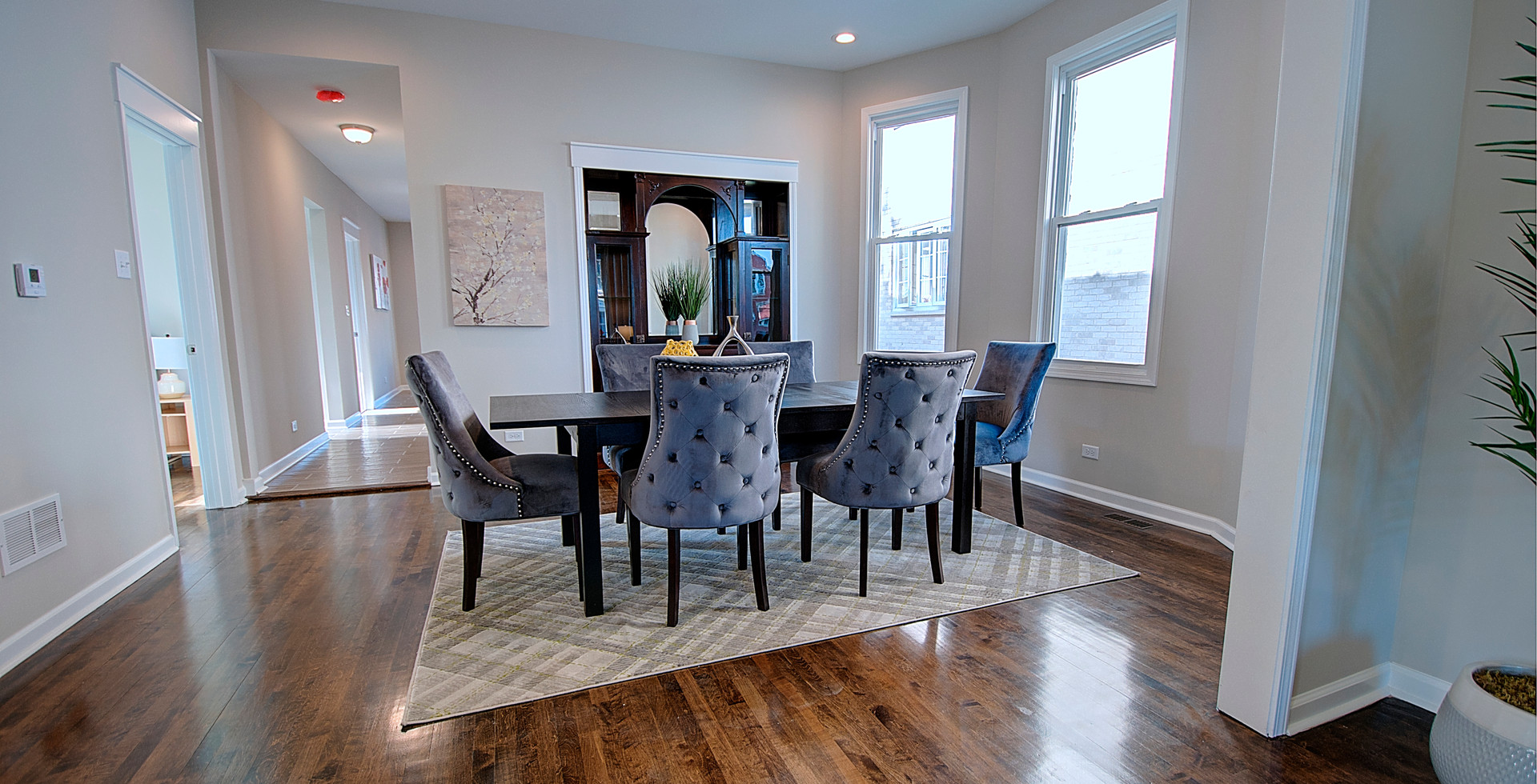 Dining Room in Lombard designed by MRM Home Design.jpg