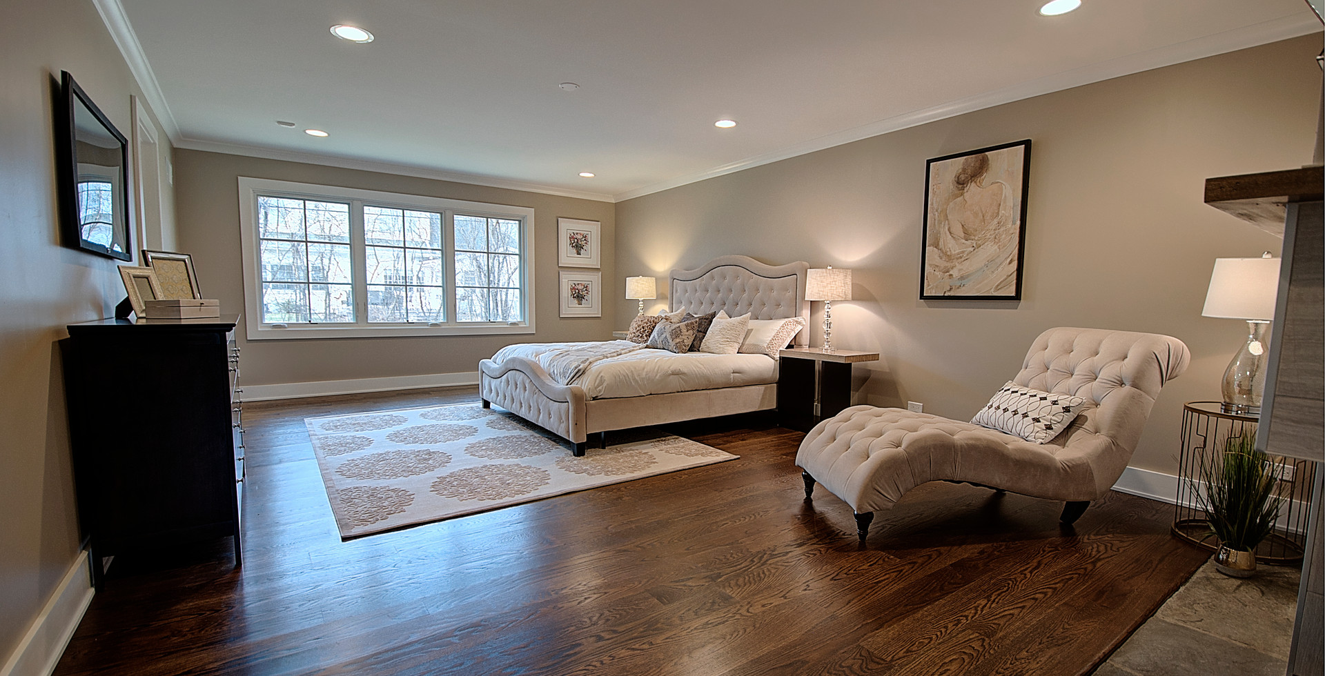 Bedroom in Park Ridge designed by MRM Home Design.jpg