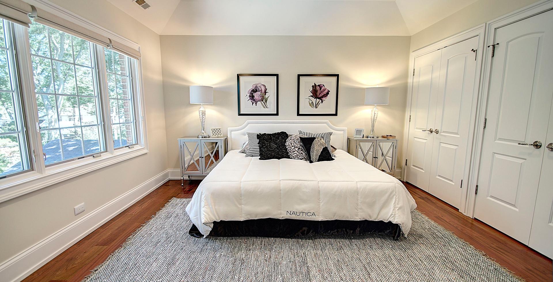 Bedroom in Willowbrook designed by MRM Home Design.jpg