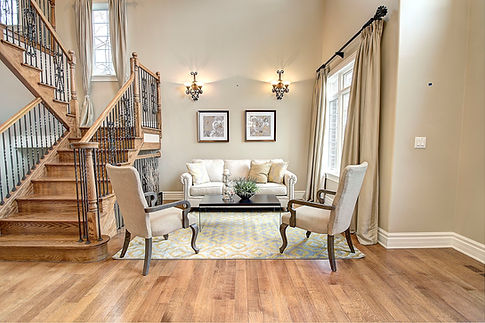 Foyer in Downers Grove designed by MRM Home Design