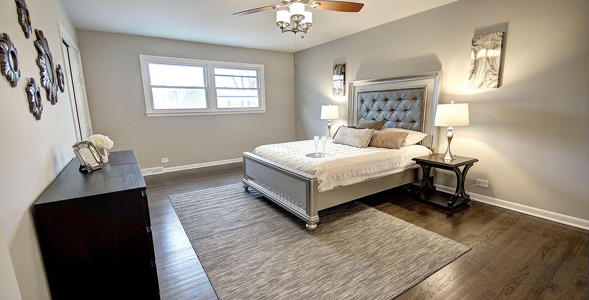 Bedroom in Bolingbrook designed by MRM Home Design.jpg