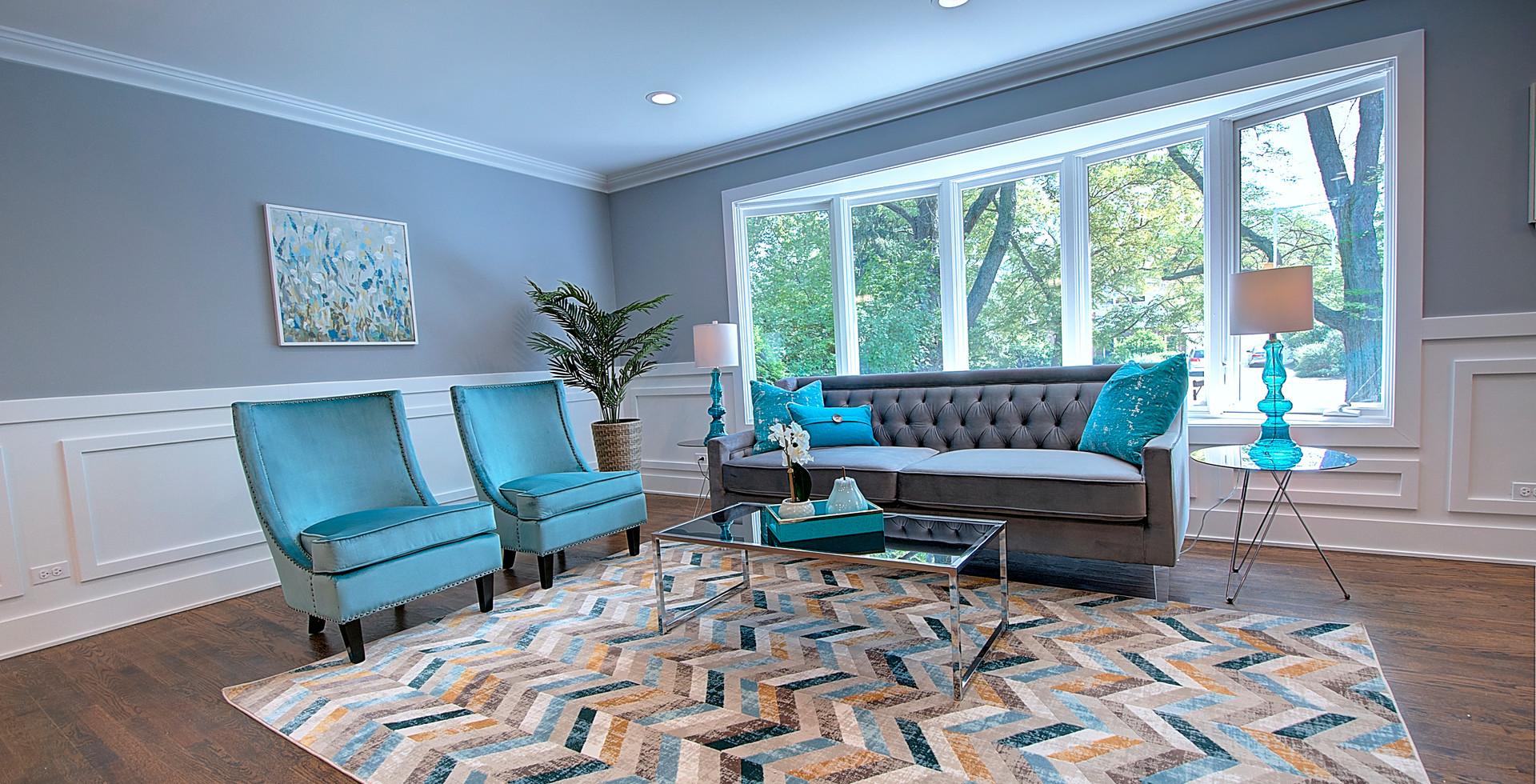 Living Room in Warrenville designed by MRM Home Design.jpg