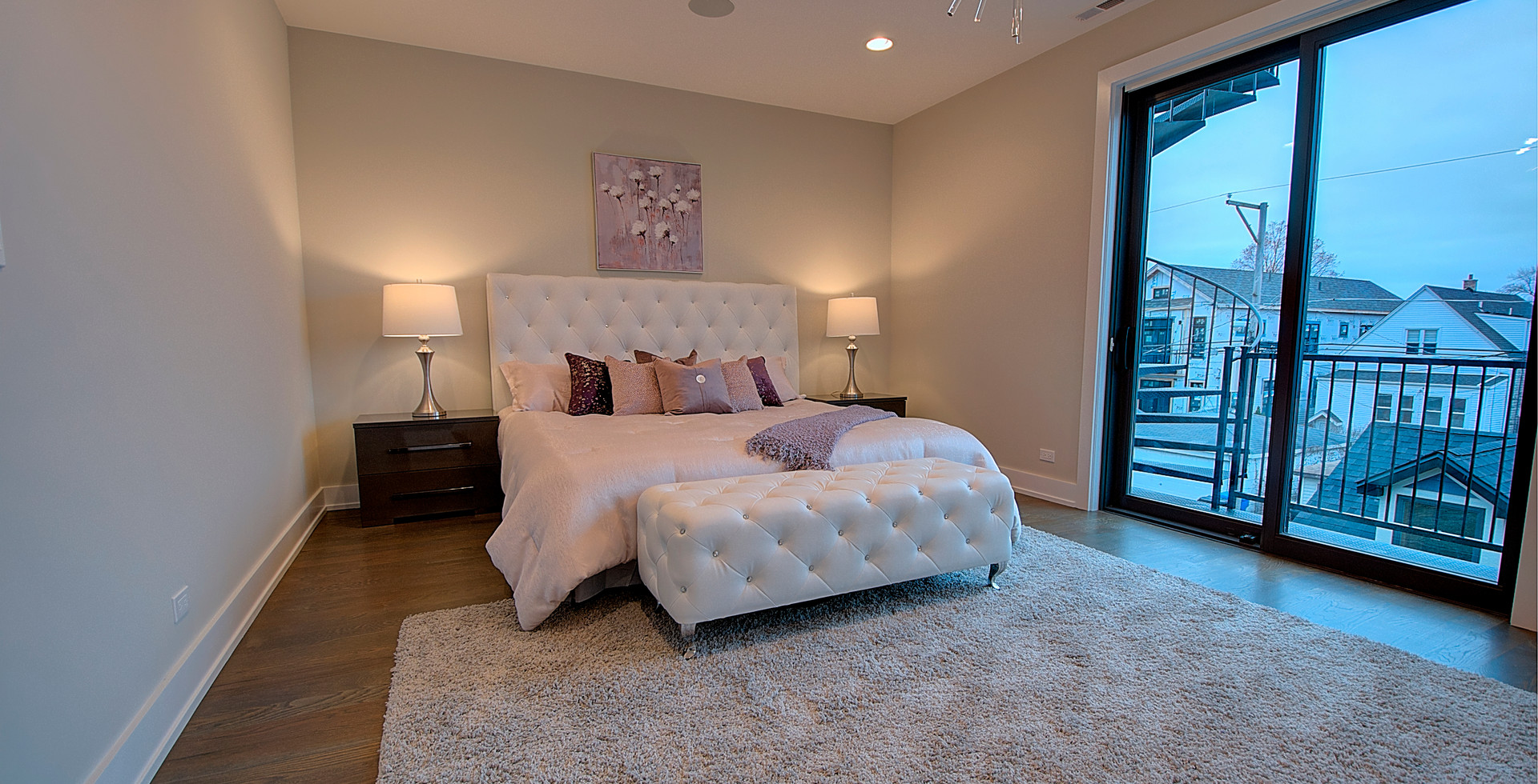 Bedroom in Westmont designed by MRM Home Design.jpg