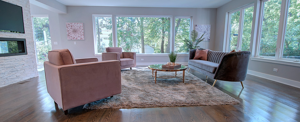 Living Room in Des Plaines designed by MRM Home Design.jpg
