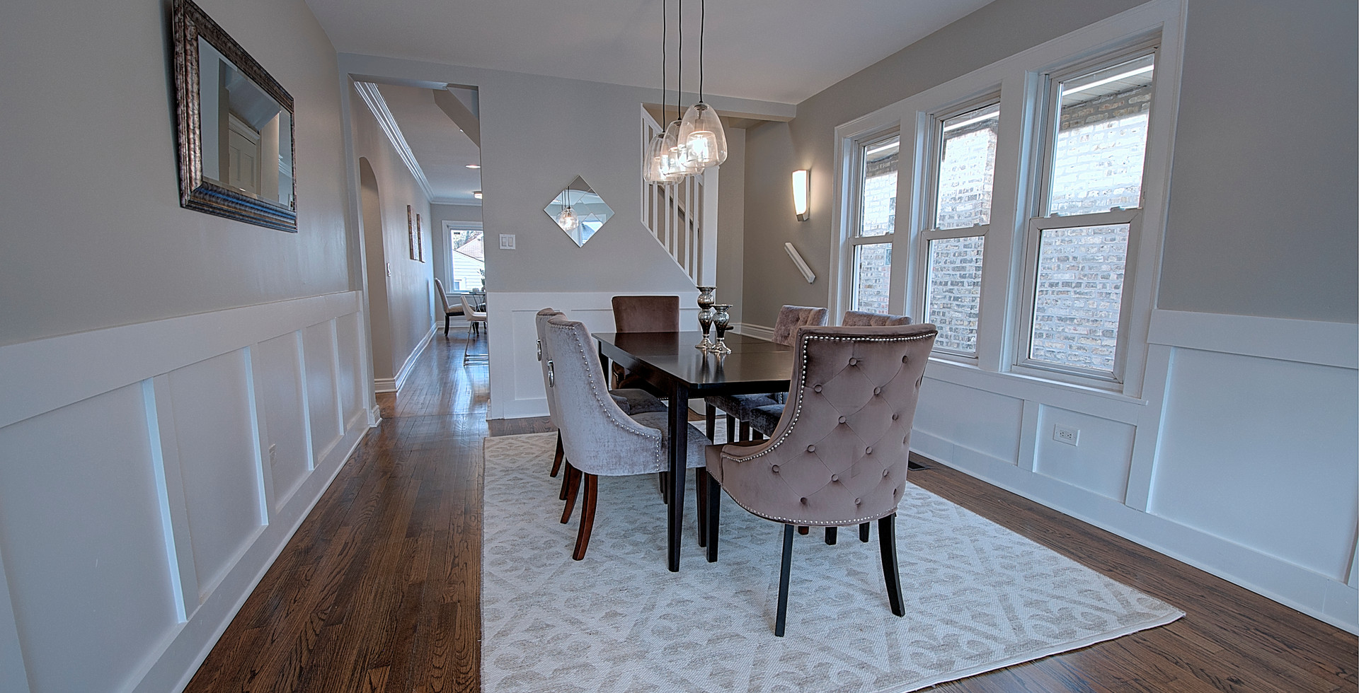 Dining Room in Glencoe designed by MRM Home Design.jpg