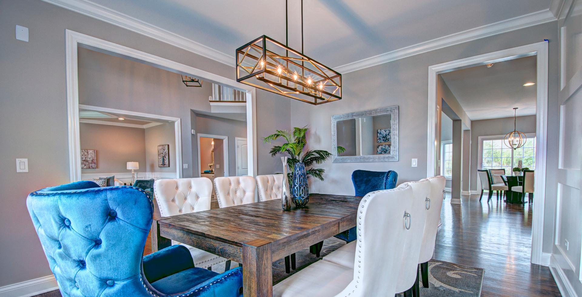 Dining Room in Naperville designed by MRM Home Design.jpg