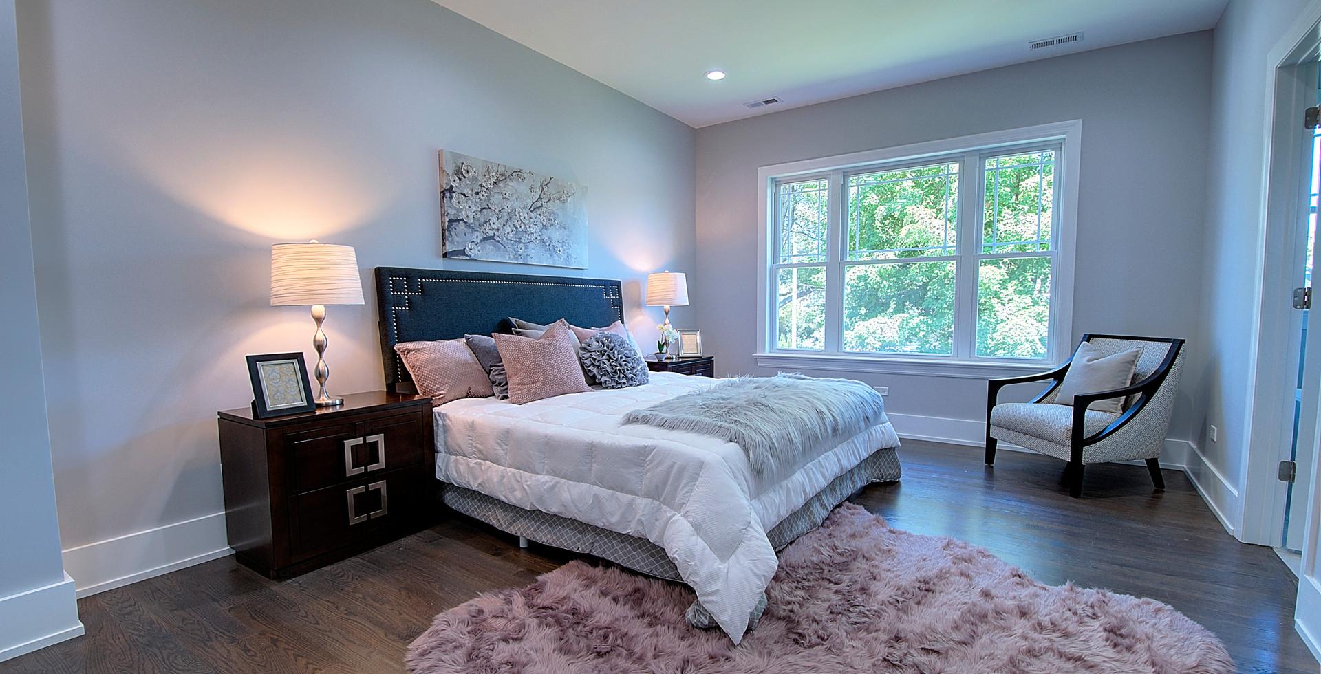 Bedroom in Elmhurst designed by MRM Home Design.jpg