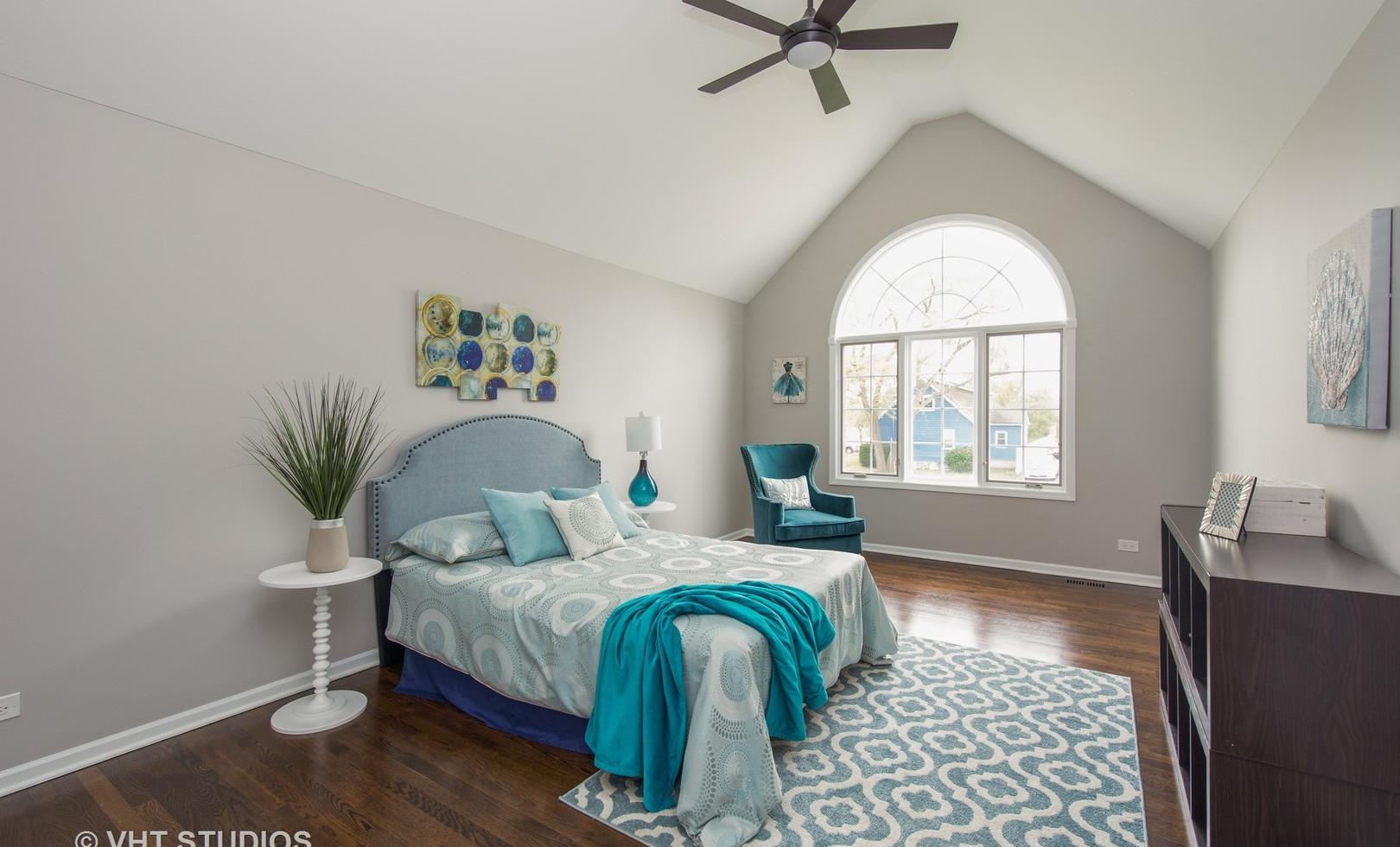 Bedroom in Orland Park designed by MRM Home Design.jpg