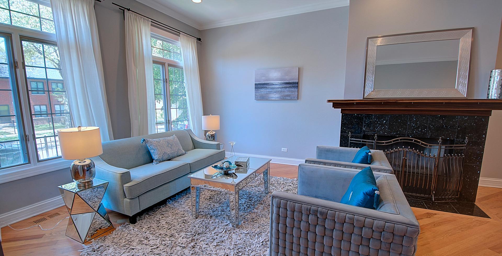 Living Room in Elmhurst designed by MRM Home Design.jpg