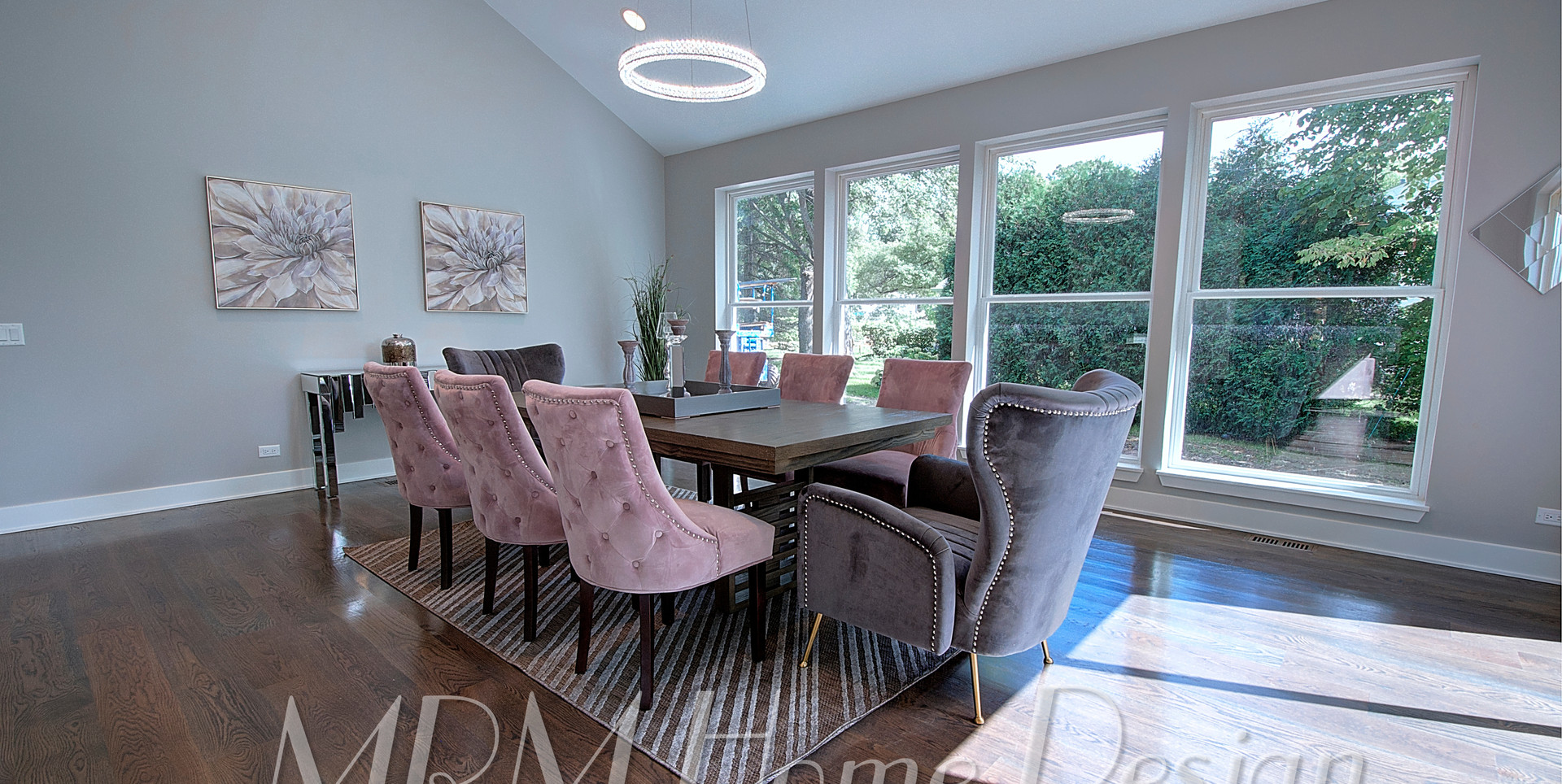 Dining Room in Lake Forest designed by MRM Home Design.jpg