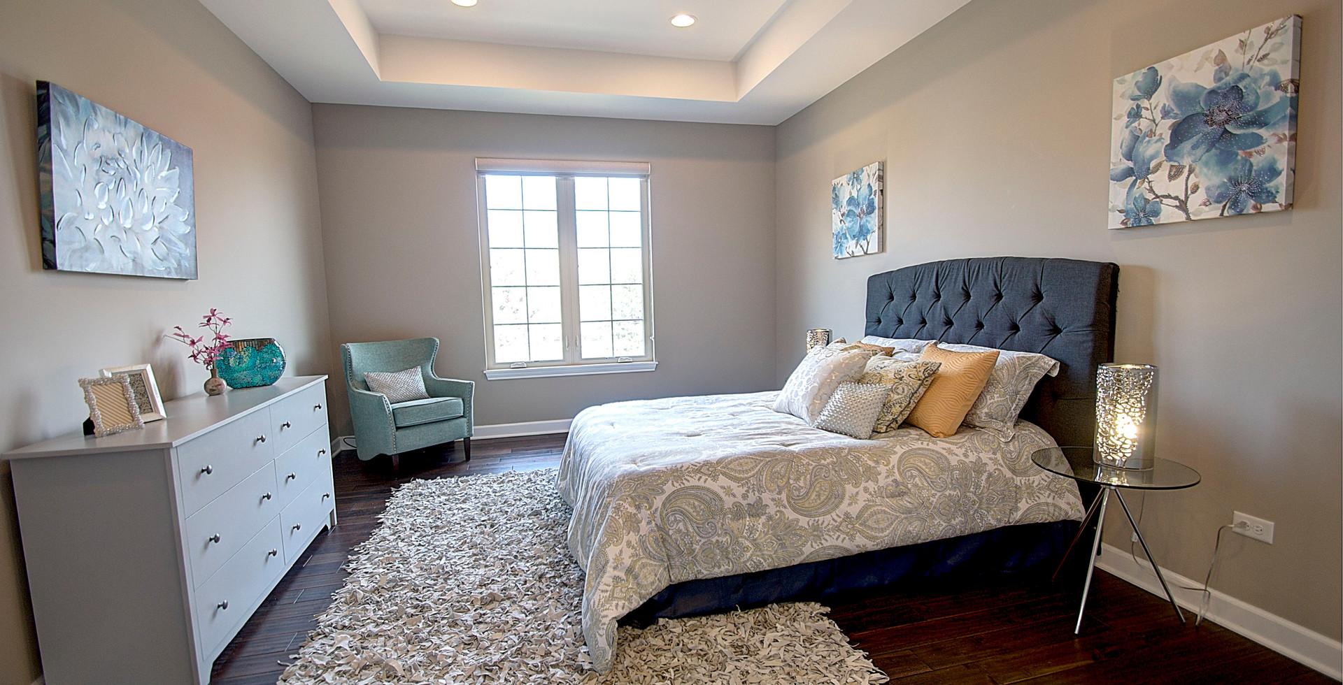 Bedroom in Forest Park designed by MRM Home Design.jpg