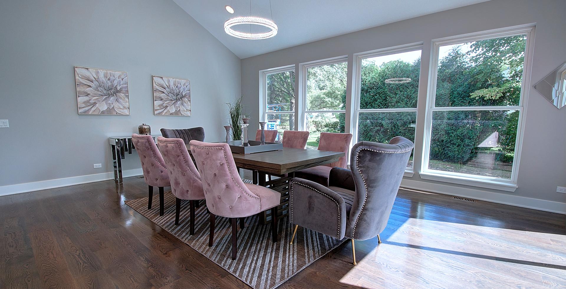 Dining Room in Glenview designed by MRM Home Design.jpg