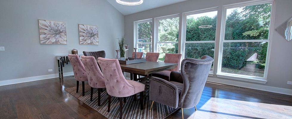 Dining Room in Glenview designed by MRM Home Design.jpg
